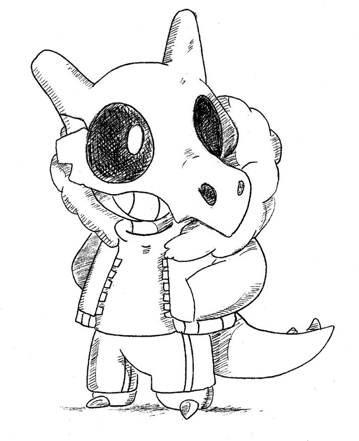 Sans  pokemon version by Nid15