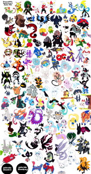 All Pokemon - generation 8