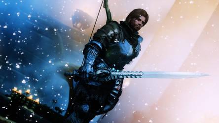 The Sacred Sword by PrimalOrigin