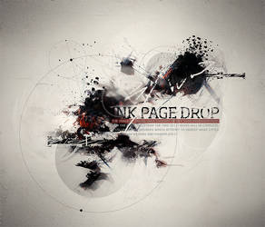 Ink Page Drop by lost-exile