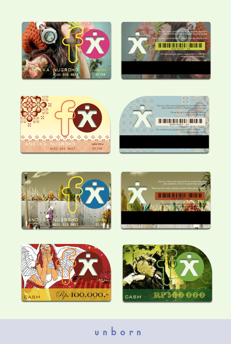 fx cardconcept by ipang