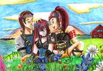 Midsummer Siblings by Herainia
