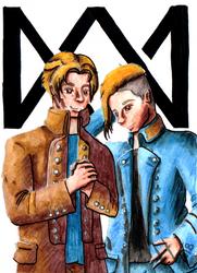 Marcus and Martinus by Herainia