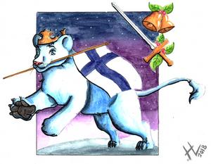 Finnish Lion Cub