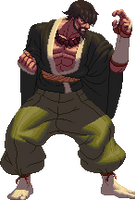 KOFXII styled sprite by OMEGAeFeX