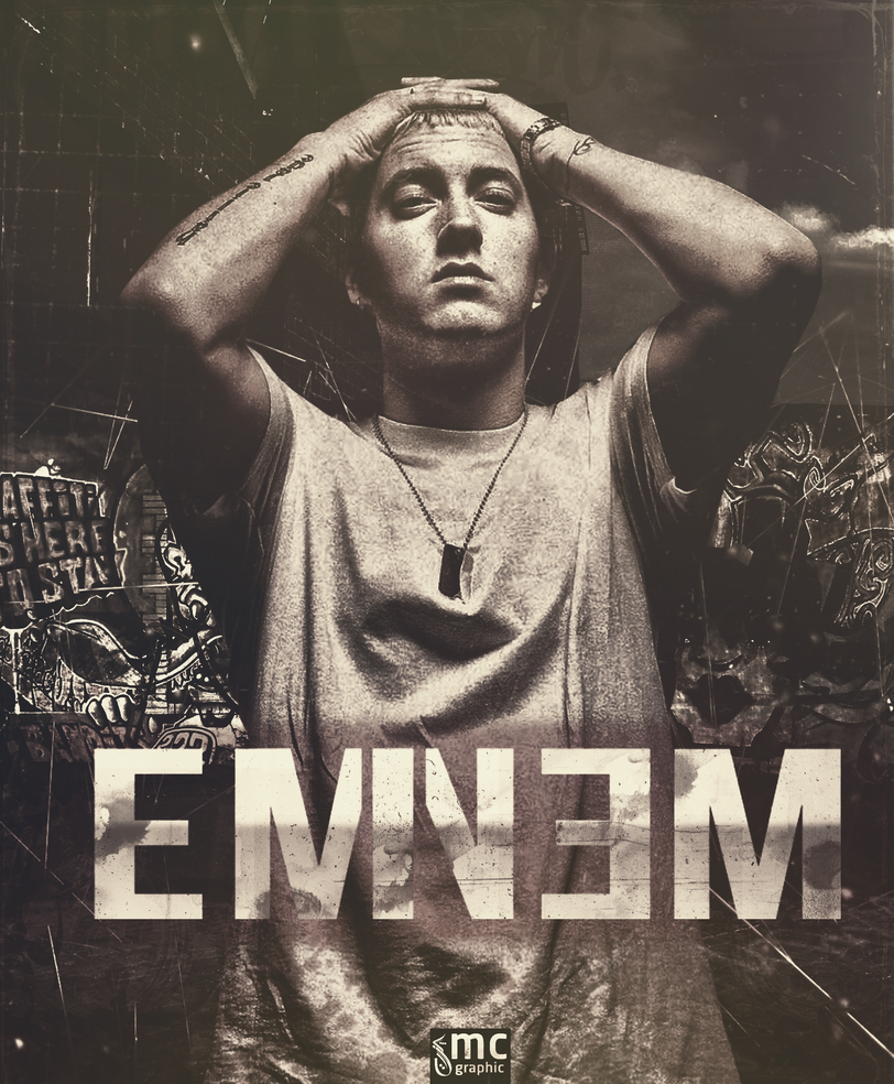 EMINEM POSTER by MCGraphic on DeviantArt