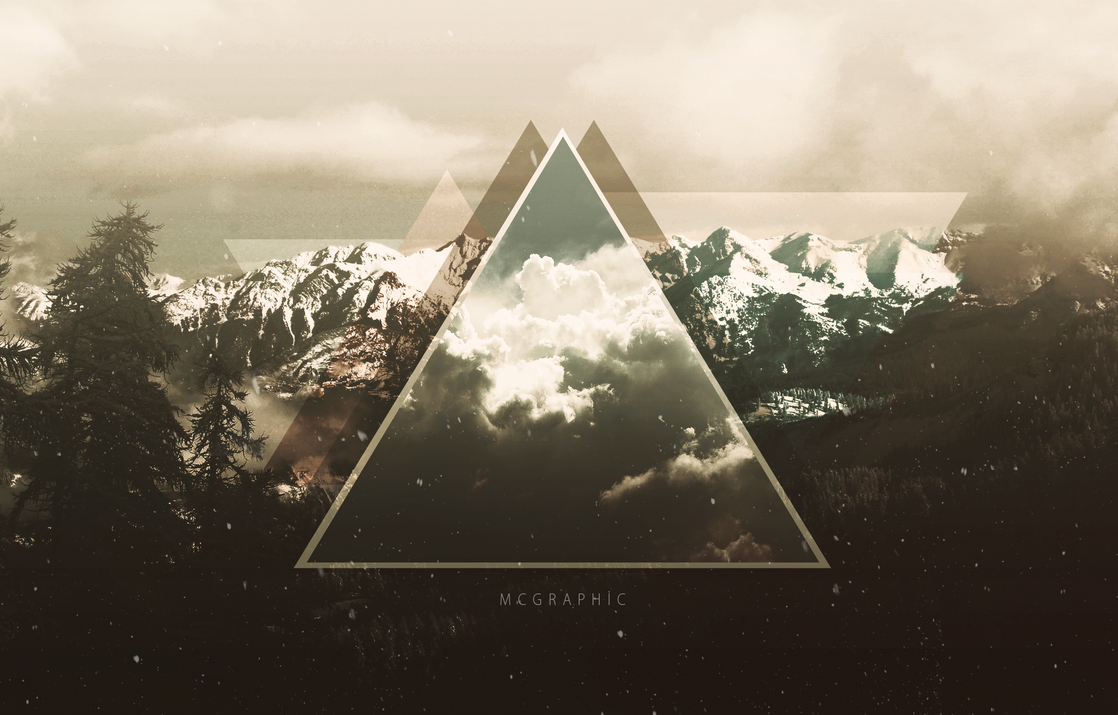 TRIANGLE WALLPAPER TUMBLR by MCGraphicInverted Triangle Wallpaper