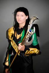 Dark Loki by The-Prez
