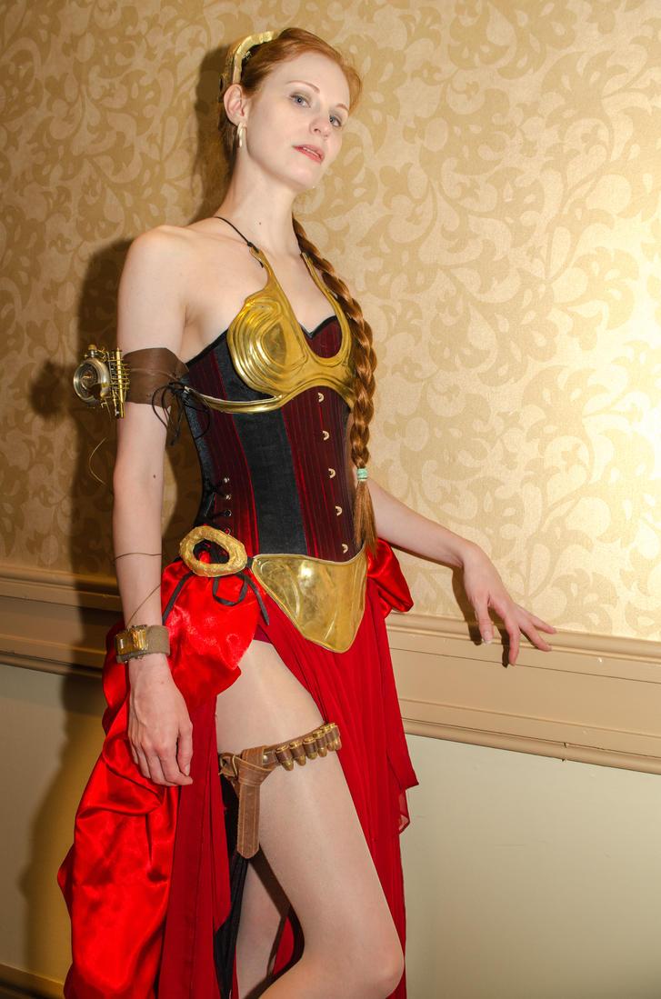 Steampunk Princess Leia by The-Prez