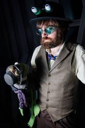 Steampunk Jim Henson by The-Prez