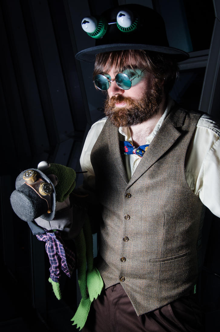 Steampunk Jim Henson by The-Prez