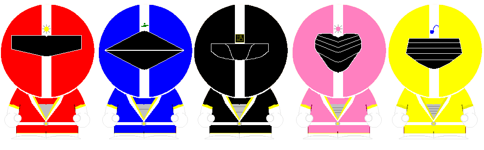 South Park Fiveman by ChoujinkiMetalder