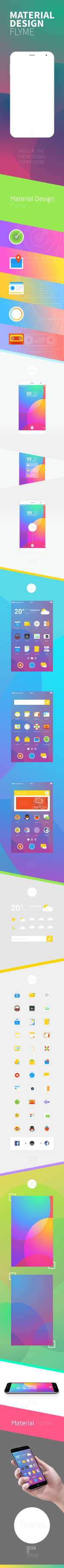 Meizu Flyme Design 75a by TinyzooXIA