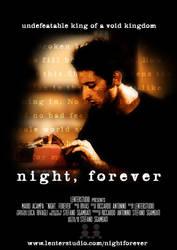 night, forever - movie poster by StefanoSgambati