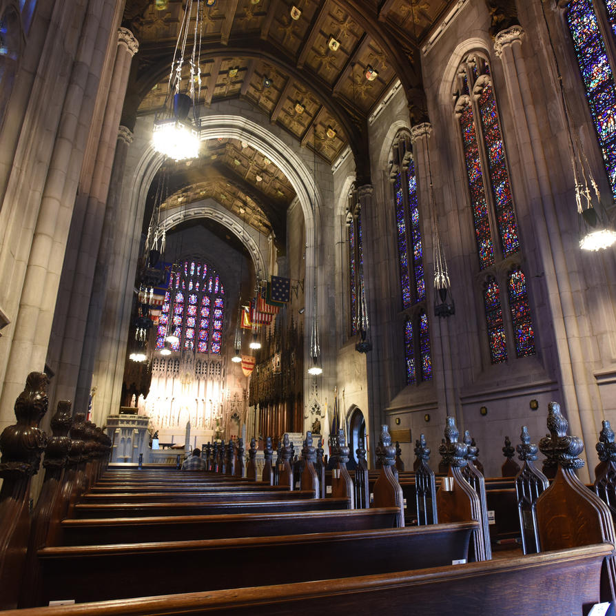 Washington's Chapel, interior by HawserMedia