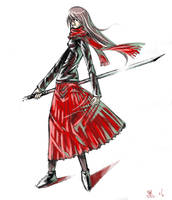Some Swordswoman Again by darkness127