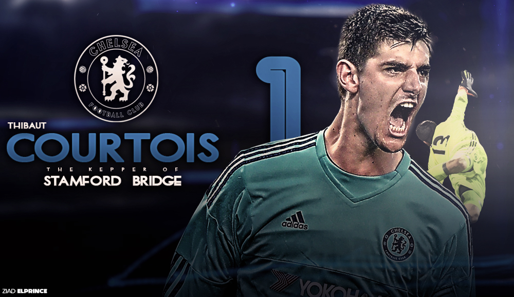 Thibaut Courtois Wallpaper By Ziadelprince22 On DeviantArt