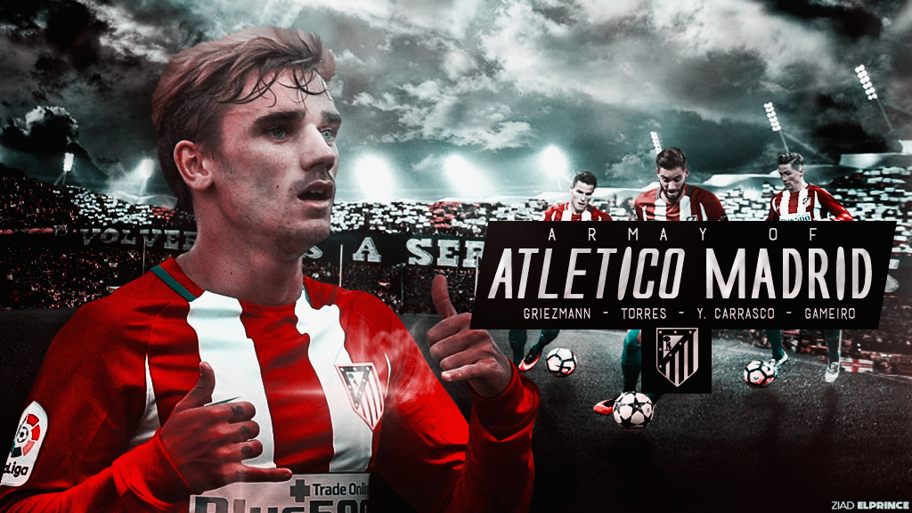 Atletico madrid wallpaper by ziadelprince22 on deviantart atletico madrid wallpaper by ziadelprince22 voltagebd Image collections