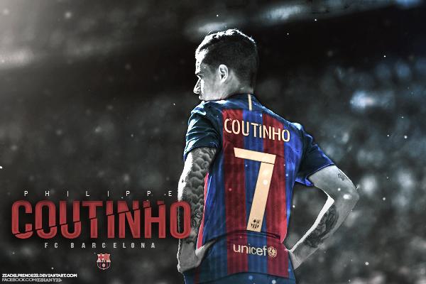 Philippe Coutinho Fc Barcelona Edit By Ziadelprince22 On Deviantart