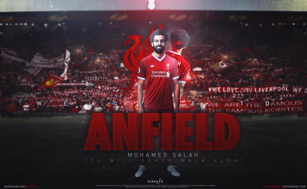 Mohamed Salah Wallpaper By Ziadelprince22 On DeviantArt
