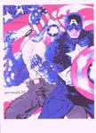 capt america and super patriot