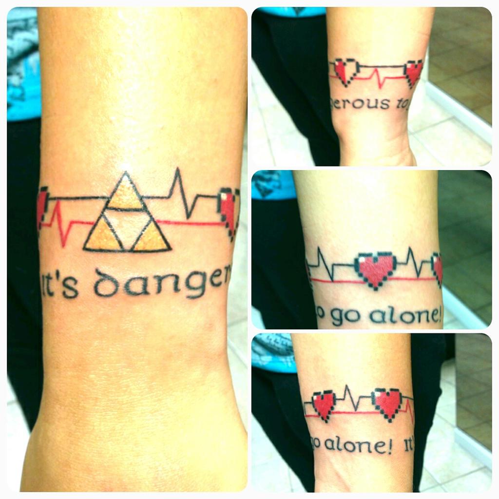 My Zelda tattoo. by 8BitPastel
