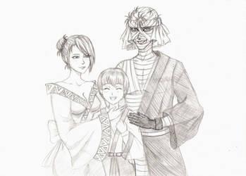 Evil family :) by NikaShu