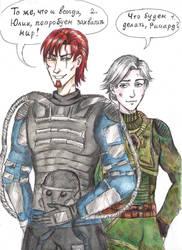 S.T.A.L.K.E.R.  Richard and Julia by NikaShu