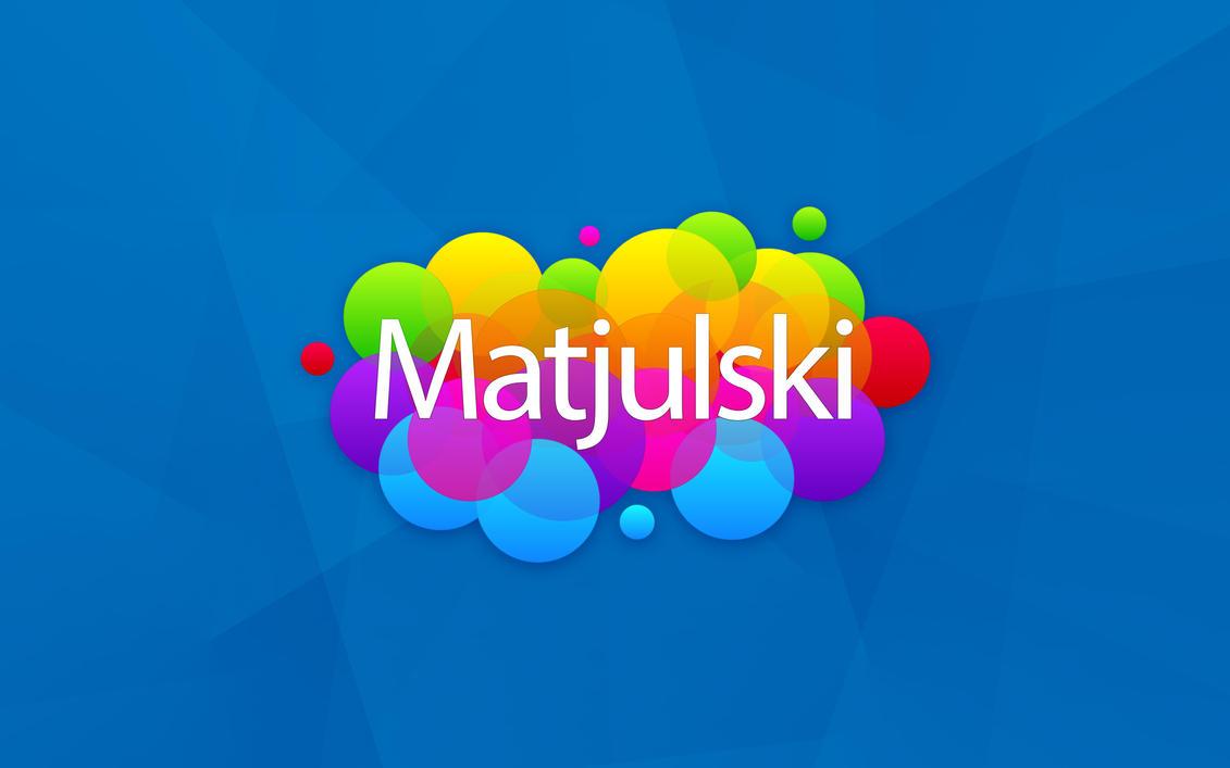 Matjulski new logo 2015 by Matjulski