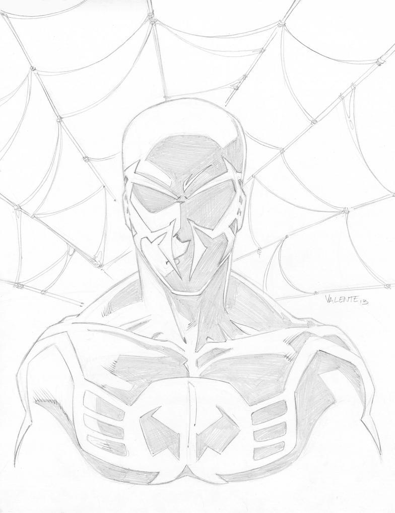 how to draw spiderman 2099 face wwwpixsharkcom