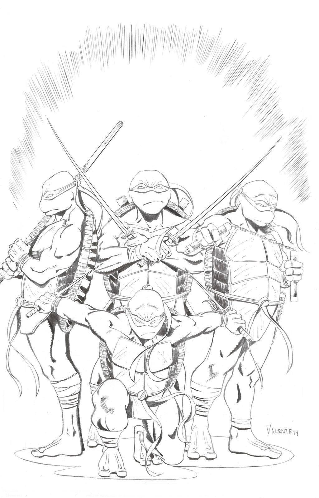 Turtle Power! by NJValente