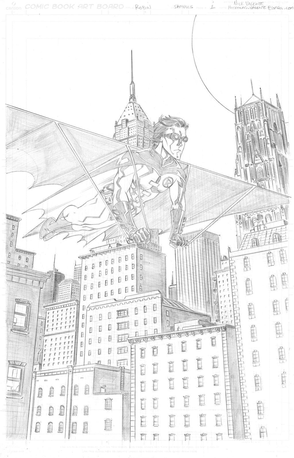 Robin Page 1 by NJValente