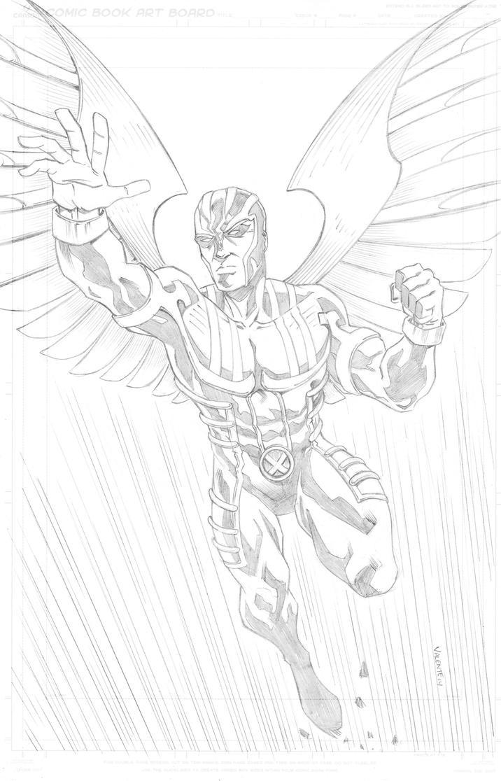 Archangel commission by NJValente
