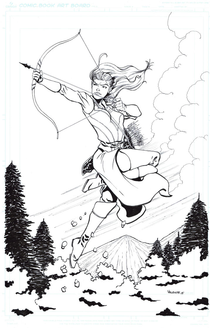 Tauriel commission by NJValente