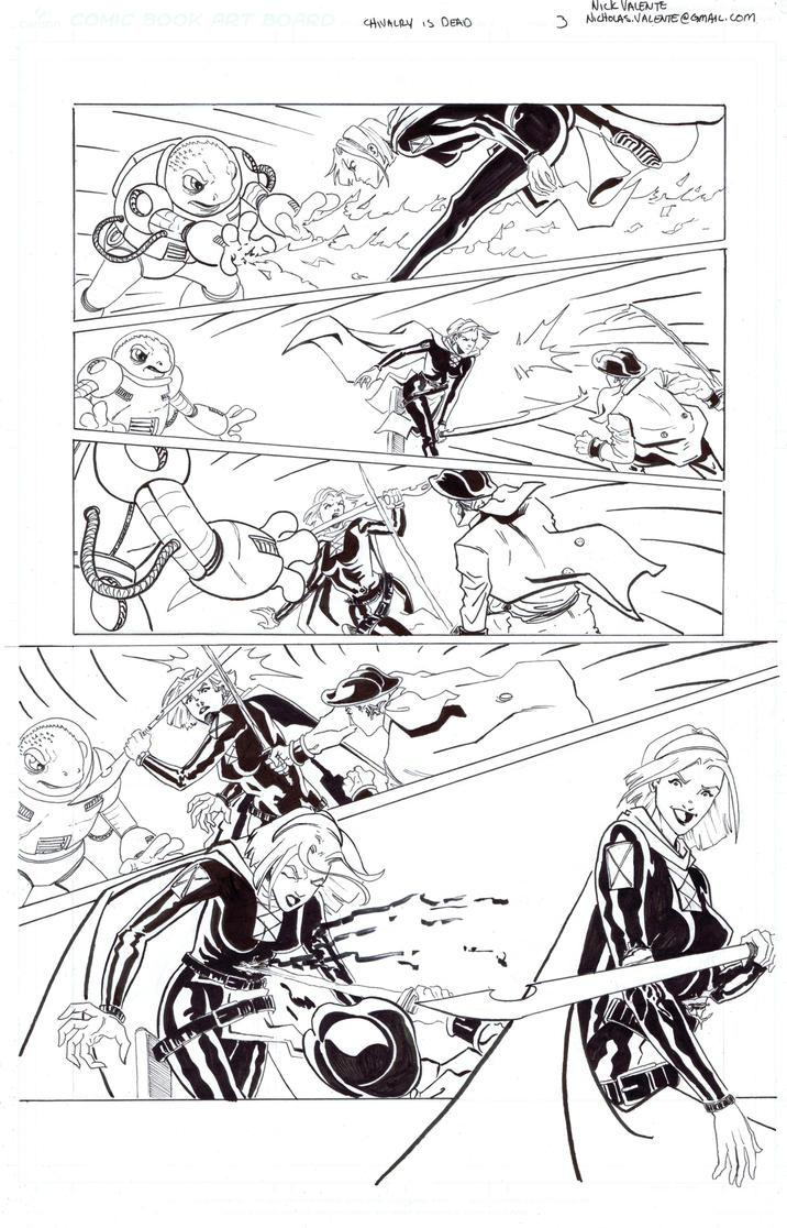 Chivalry is Dead page 3 by NJValente