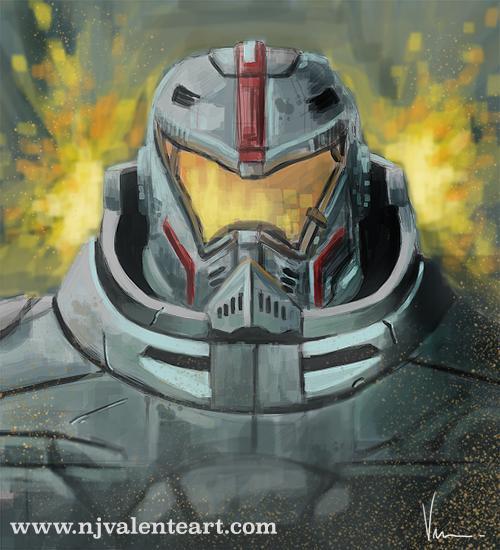 Jaeger speed paint by NJValente