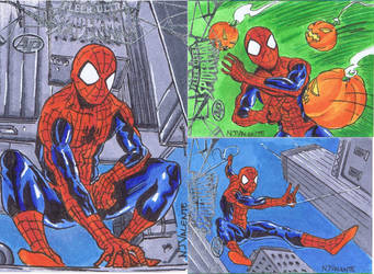 Spider-Man Fleer Ultra Aps by NJValente