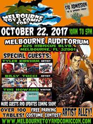 Melbourne Comic Con October 22