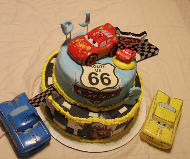 Car Cake Image Free Download : Cars Cake by Dawnscustomcakes on deviantART
