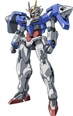 GN 0000 Gundam 00 by Mastvid