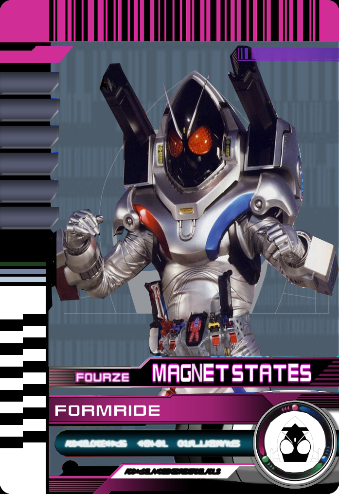 Form Ride Fourze Magnet States by Mastvid