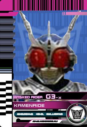 Final Kamen Ride G3 X by Mastvid