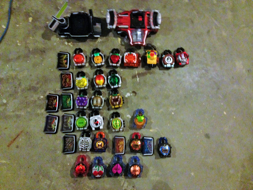 My Lockseed collection by Mastvid