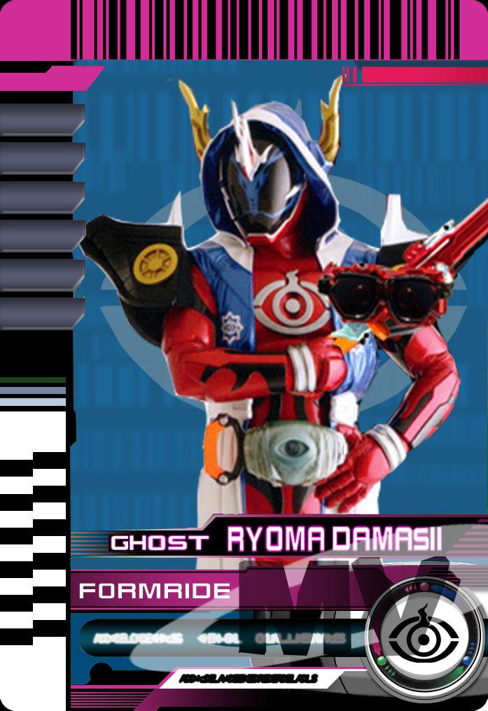 Form Ride Ghost Ryoma Damashii by Mastvid