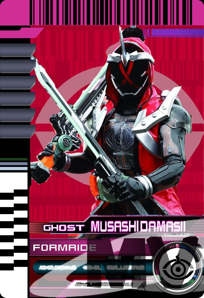 Form Ride Ghost Musashi Damashii by Mastvid