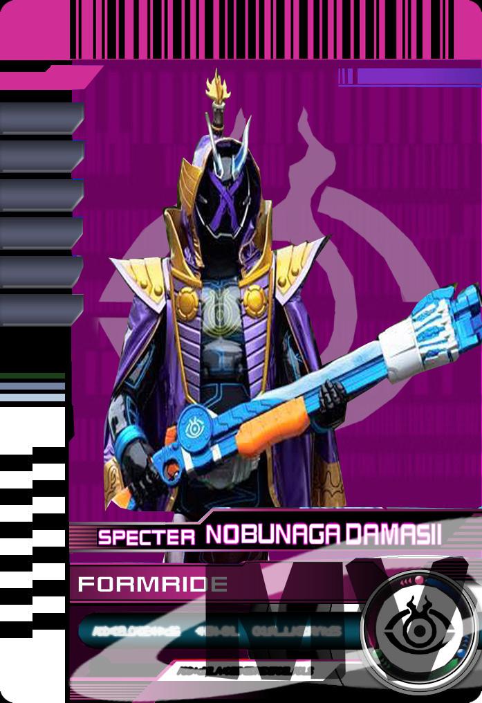 Form Ride Specter Nobunaga Damashii by Mastvid