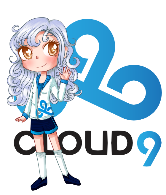 lol e sports mascots cloud 9 by goldenchase on deviantart