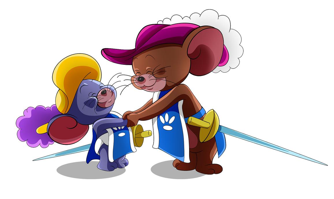 Tom and Jerry 01 by MaronKuzakawe