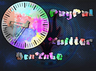 Unafraidzeo's Clock and Banners by Caeruleus-Femella