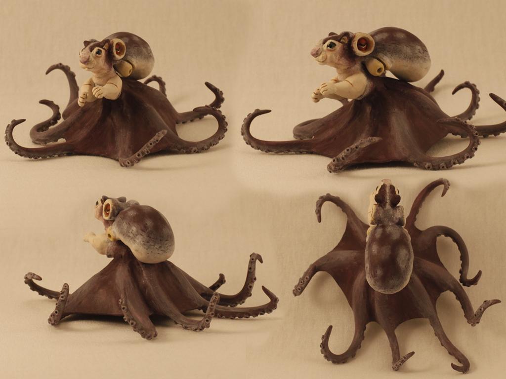 Cephalopoda Sciuridae by Xiff